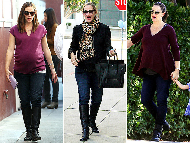 PAIGE MATERNITY JEANS photo | Jennifer Garner
