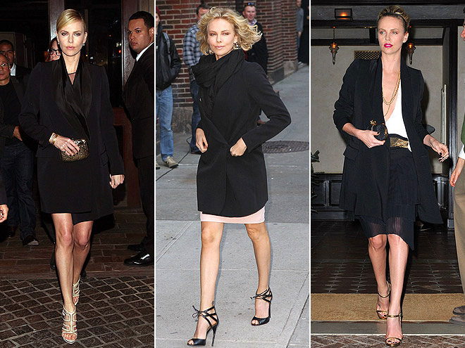 STELLA MCCARTNEY COAT photo | Charlize Theron