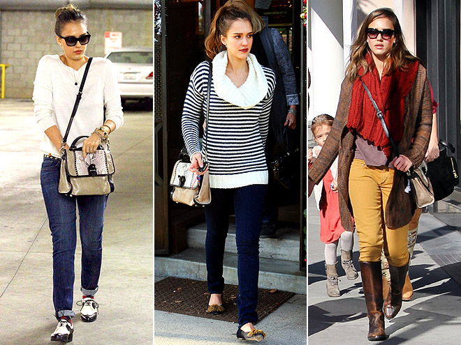 REBECCA MINKOFF BAG photo | Jessica Alba