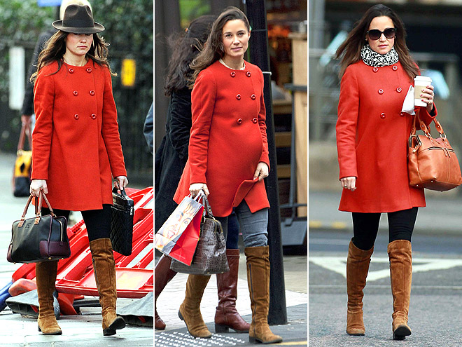 ZARA COAT photo | Pippa Middleton