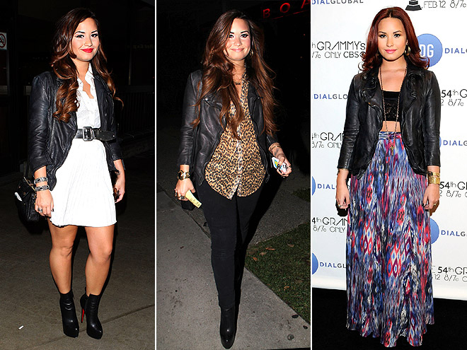 MUUBAA LEATHER JACKET photo | Demi Lovato