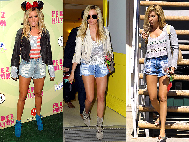 MINKPINK CUTOFFS photo | Ashley Tisdale