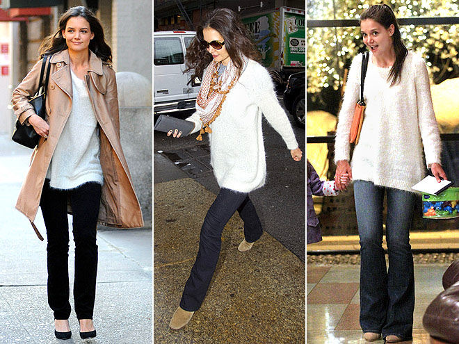 INHABIT SWEATER photo | Katie Holmes