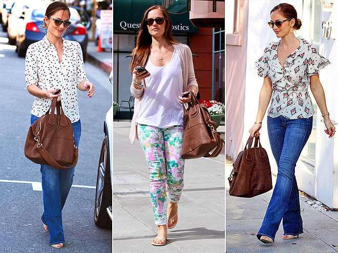 GIVENCHY TOTE photo | Minka Kelly