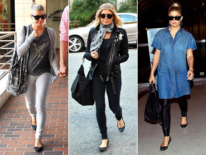 FERGIE FOOTWEAR FLATS photo | Fergie
