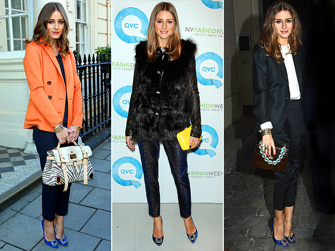MANOLO BLAHNIK PUMPS photo | Olivia Palermo