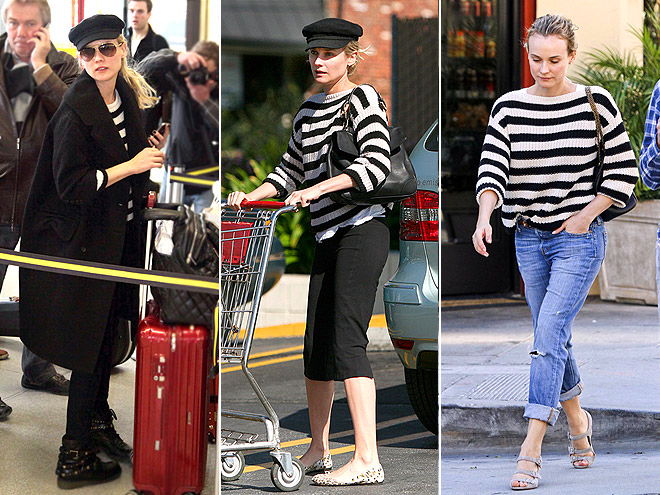 ANN TAYLOR SWEATER photo | Diane Kruger