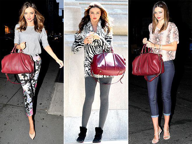 LOUIS VUITTON SATCHEL photo | Miranda Kerr