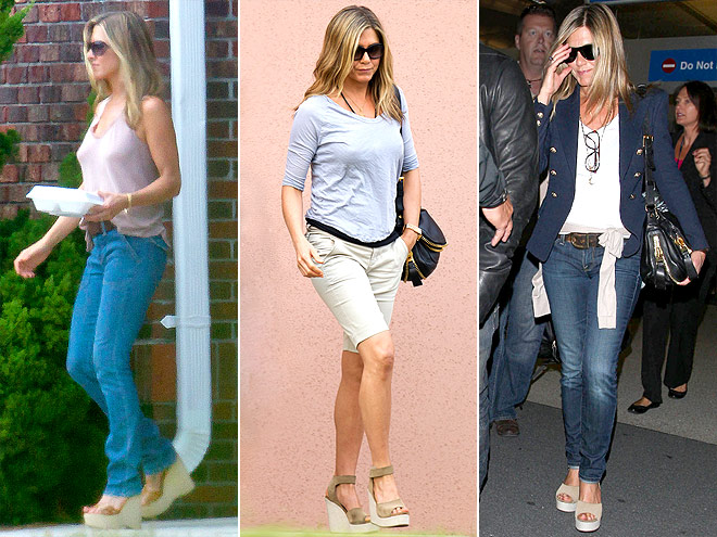 PEDRO GARC&#205;A WEDGES photo | Jennifer Aniston