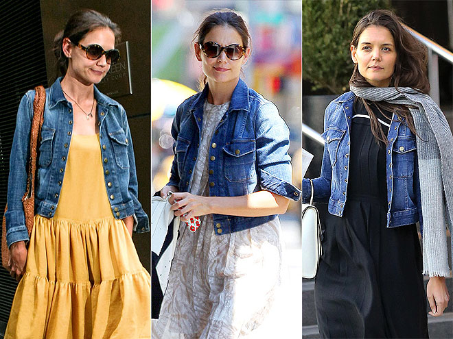 CURRENT/ELLIOTT JACKET photo | Katie Holmes