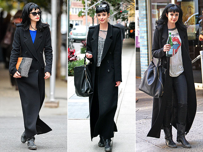 SMYTHE COAT photo | Krysten Ritter