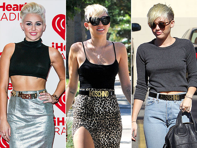 MOSCHINO BELT photo | Miley Cyrus