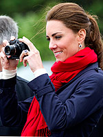 Celebs' Favorite Tech-sessories | Kate Middleton