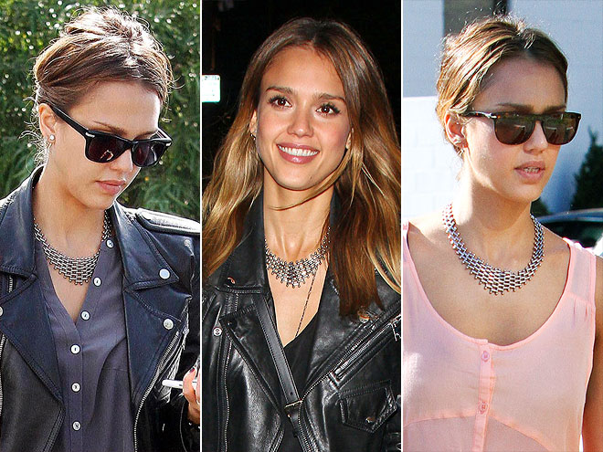 HOUSE OF LAVANDE VINTAGE NECKLACE photo | Jessica Alba