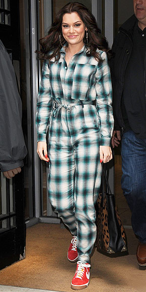 FLANNEL ONESIES photo | Jessie J