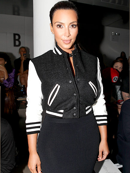 VARSITY JACKETS photo | Kim Kardashian
