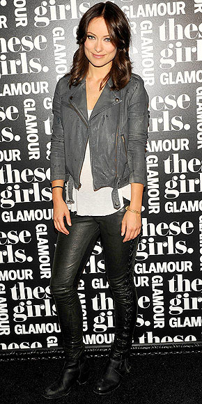 LEATHER ON LEATHER photo | Olivia Wilde