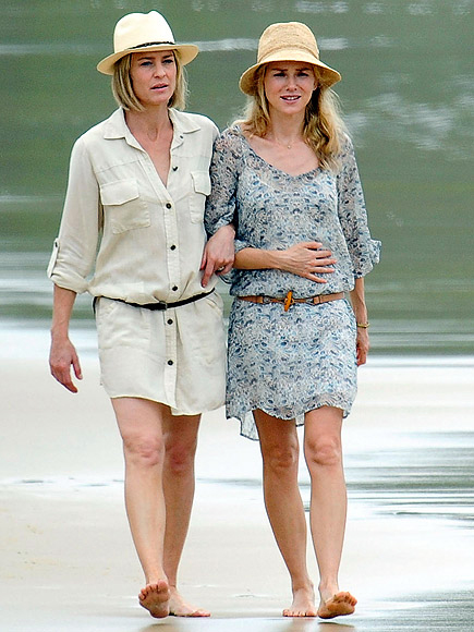 ROBIN WRIGHT & NAOMI WATTS photo | Naomi Watts, Robin Wright