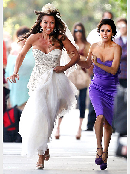 VANESSA WILLIAMS & EVA LONGORIA photo | Eva Longoria, Vanessa Williams