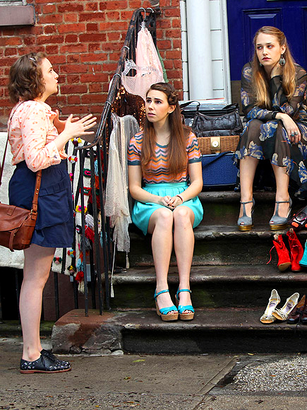 LENA, ZOSIA & JEMIMA photo | Lena Dunham