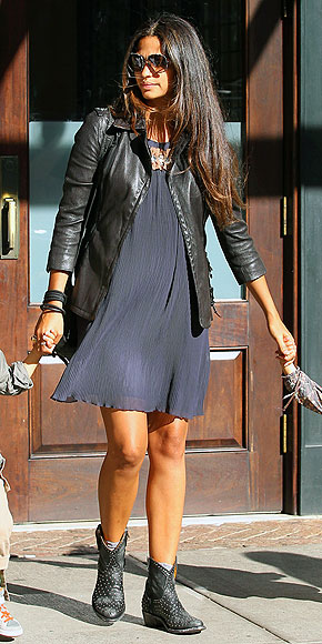 COWBOY BOOTIES photo | Camila Alves