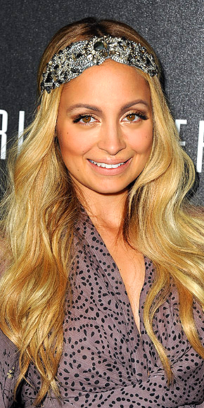 JEWELED HEADBAND photo | Nicole Richie