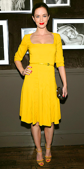 MUSTARD YELLOW photo | Emily Blunt