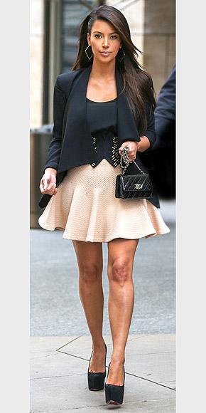 A-LINE MINISKIRTS photo | Kim Kardashian