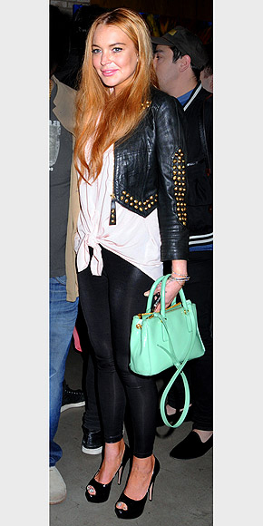 MINT GREEN ACCESSORIES photo | Lindsay Lohan