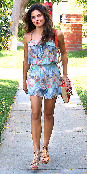 PRINTED ROMPERS photo | Jenna Dewan