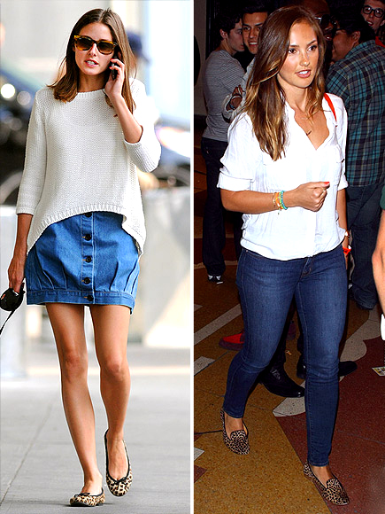 LEOPARD FLATS photo | Minka Kelly, Olivia Palermo