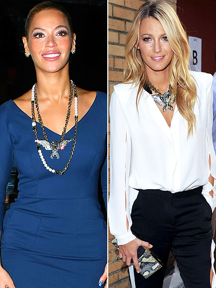 EAGLE NECKLACES photo | Beyonce Knowles, Blake Lively