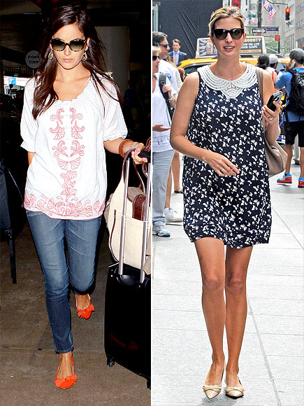 POINTY-TOE FLATS photo | Camilla Belle, Ivanka Trump
