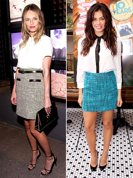 TWEED SKIRTS photo | Jenna Dewan, Kate Bosworth