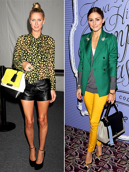 COLOR-BLOCK BAG photo | Nicky Hilton, Olivia Palermo