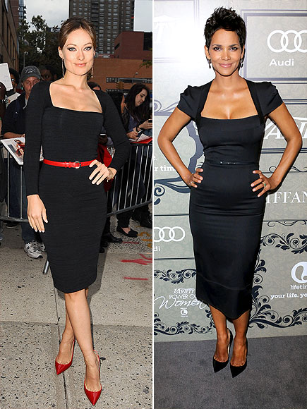 SQUARE-NECKLINE DRESSES photo | Halle Berry, Olivia Wilde