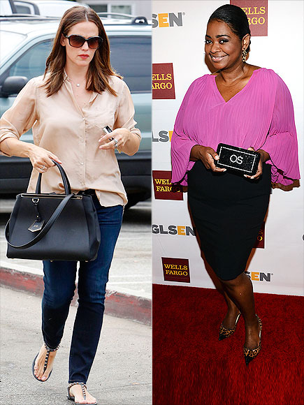 MONOGRAMMED ACCESSORIES photo | Jennifer Garner, Octavia Spencer