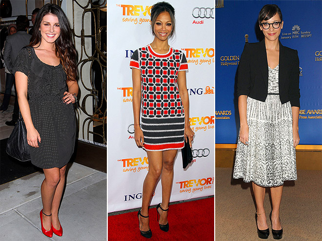 ANKLE BRACELETS photo | Rashida Jones, Shenae Grimes, Zoe Saldana