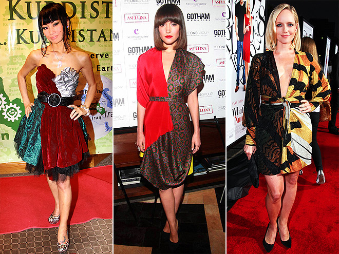 PATCHWORK DRESSES photo | Bai Ling, Marley Shelton, Rose Byrne