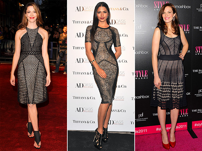 CROCHET DRESSES photo | Camila Alves, Mandy Moore, Rebecca Hall