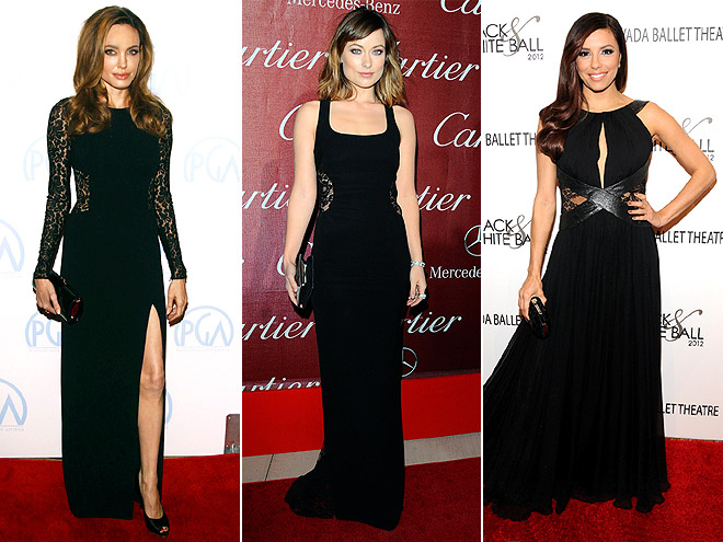 LACE INSERTS photo | Angelina Jolie, Eva Longoria, Olivia Wilde