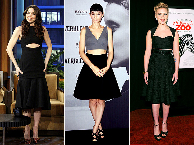 BARE MIDRIFFS photo | Rooney Mara, Scarlett Johansson, Whitney Cummings