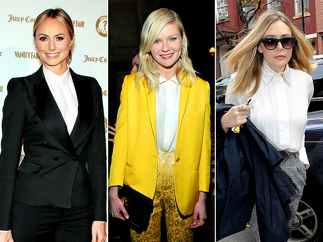 FULLY BUTTONED OXFORDS photo | Elizabeth Olsen, Kirsten Dunst, Stacy Keibler