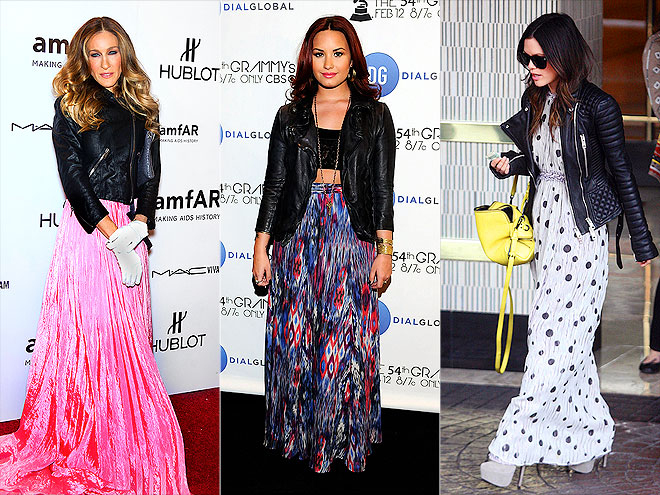 MAXIS & MOTO JACKETS photo | Demi Lovato, Rachel Bilson, Sarah Jessica Parker