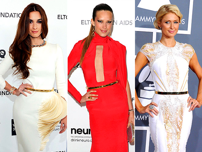 SLIM GOLD BELTS photo | Paris Hilton, Paz Vega, Petra Nemcova