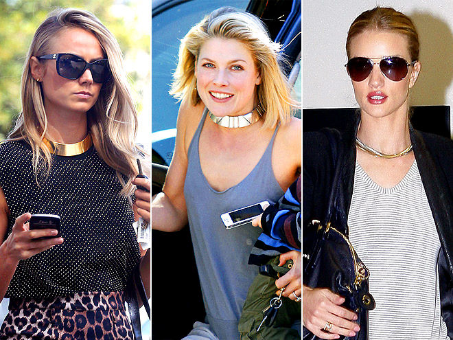 CASUAL COLLARS photo | Ali Larter, Rosie Huntington-Whiteley, Stacy Keibler