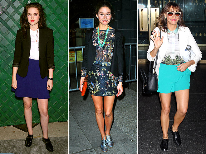 DRESSED-UP OXFORDS photo | Kristen Stewart, Olivia Palermo, Rashida Jones