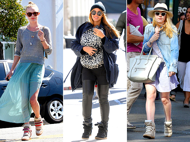WEDGE SNEAKERS photo | Beyonce Knowles, Dakota Fanning, Kate Bosworth