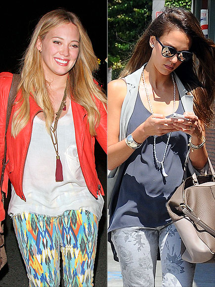 TASSEL NECKLACES photo | Hilary Duff, Jessica Alba