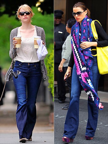 FLARED JEANS photo | Emma Stone, Sofia Vergara